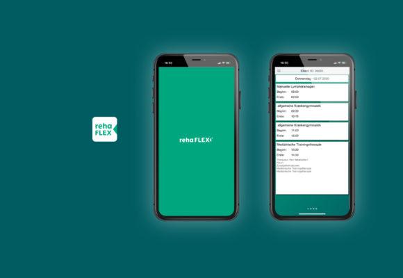 Die rehaFLEX-App ist da!