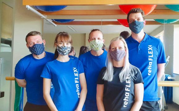 Physio-Team weiter für Ihre Gesundheit im Einsatz