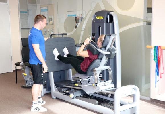 Neue Geräte in der Sporttherapie