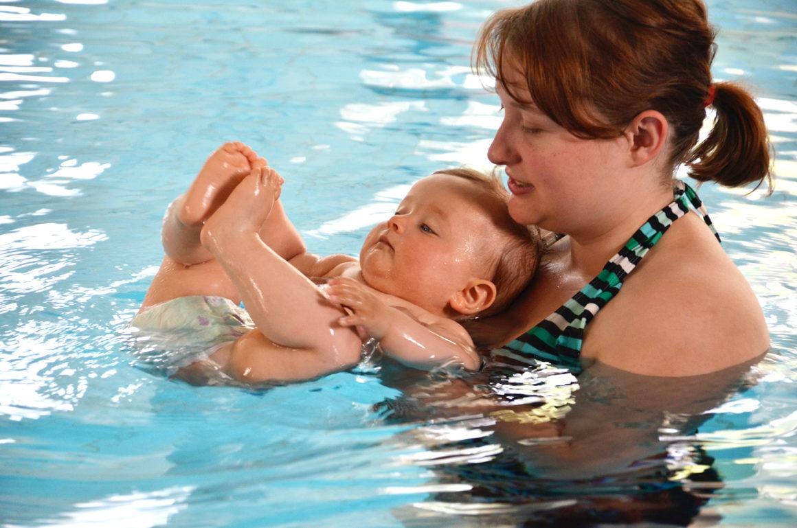 Stopp für Babyschwimmen